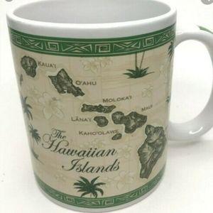 Hawaiian Islands Coffee Mugs (2 per pkg)